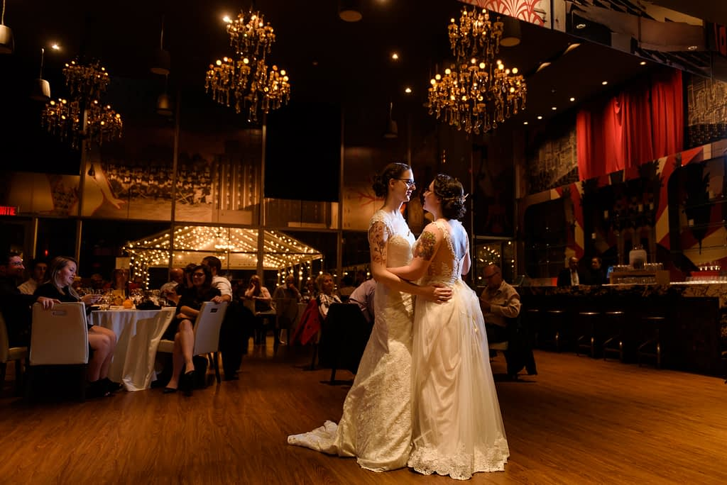 Hotel 10 wedding in downtown Montreal