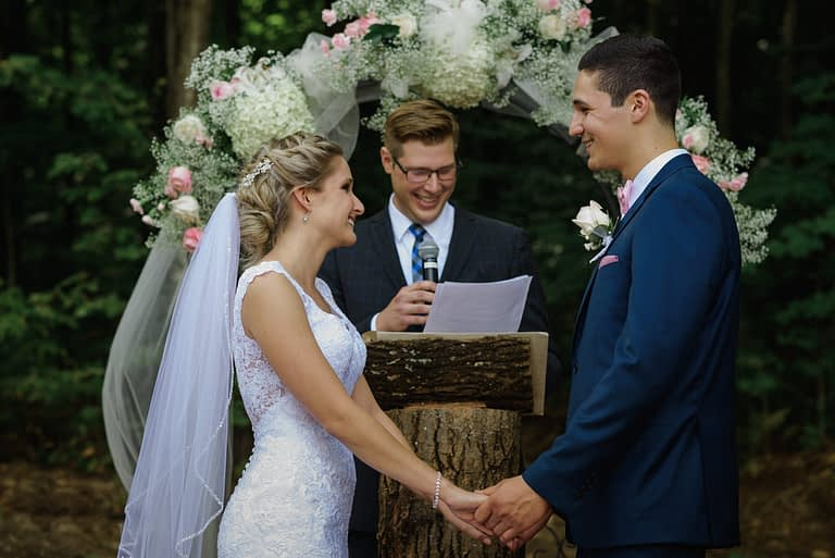 Eastern Townships wedding on an alpaca farm