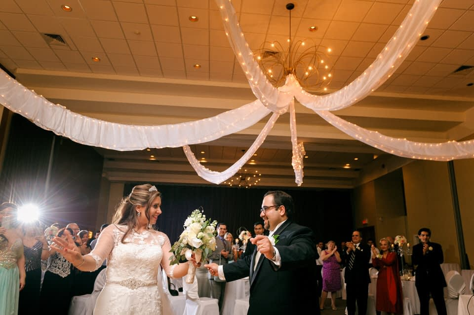 First dance at Chateau Bromont wedding