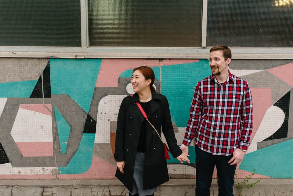 Engagement portraits in Mile-End 04