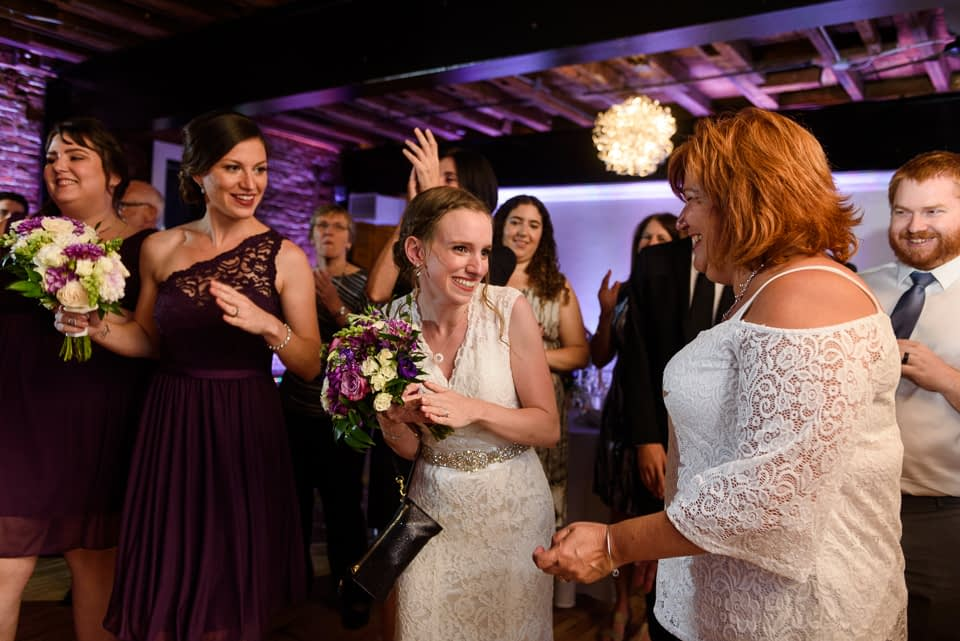 Everyone starts dancing as wedding couple arrives at Canvas Montreal 01